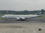 さゆりんごさんが、成田国際空港で撮影したキャセイパシフィック航空 747-867F/SCDの航空フォト(写真)