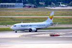 まいけるさんが、フランクフルト国際空港で撮影したブル・エア 737-33Sの航空フォト(写真)