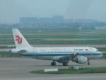いっとくさんが、上海浦東国際空港で撮影した中国国際航空 A319-132の航空フォト(写真)