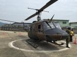 いっとくさんが、八尾空港で撮影した陸上自衛隊 UH-1Jの航空フォト(写真)