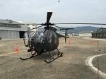いっとくさんが、八尾空港で撮影した陸上自衛隊 OH-6Dの航空フォト(写真)