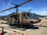 いっとくさんが、舞鶴飛行場で撮影した陸上自衛隊 UH-1Jの航空フォト(写真)