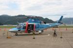 いっとくさんが、舞鶴飛行場で撮影した京都府警察 A109E Powerの航空フォト(写真)