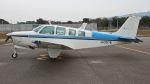 航空見聞録さんが、大島空港で撮影した日本法人所有 A36 Bonanza 36の航空フォト(写真)