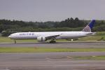けいとパパさんが、成田国際空港で撮影したユナイテッド航空 777-322/ERの航空フォト(写真)