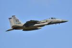 リョウさんが、嘉手納飛行場で撮影したアメリカ空軍 F-15C-27-MC Eagleの航空フォト(写真)