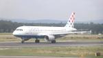 誘喜さんが、フランクフルト国際空港で撮影したクロアチア航空 A320-214の航空フォト(写真)