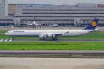 PASSENGERさんが、羽田空港で撮影したルフトハンザドイツ航空 A340-642の航空フォト(写真)