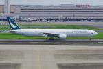PASSENGERさんが、羽田空港で撮影したキャセイパシフィック航空 777-367の航空フォト(写真)