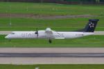 PASSENGERさんが、チューリッヒ空港で撮影したオーストリア航空 DHC-8-402Q Dash 8の航空フォト(写真)