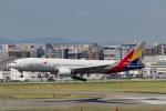 たかきさんが、福岡空港で撮影したアシアナ航空 777-28E/ERの航空フォト(写真)