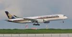 kamerajiijiさんが、羽田空港で撮影したシンガポール航空 A350-941XWBの航空フォト(写真)