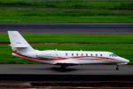 T.Kenさんが、羽田空港で撮影した朝日航洋 680 Citation Sovereignの航空フォト(写真)