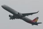 木人さんが、成田国際空港で撮影したアシアナ航空 A321-231の航空フォト(写真)