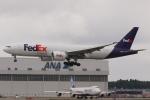 木人さんが、成田国際空港で撮影したフェデックス・エクスプレス 777-FHTの航空フォト(写真)