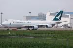 kinsanさんが、成田国際空港で撮影したキャセイパシフィック航空 747-867F/SCDの航空フォト(写真)
