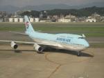commet7575さんが、福岡空港で撮影した大韓航空 747-4B5の航空フォト(写真)