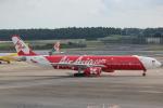 cassiopeiaさんが、成田国際空港で撮影したインドネシア・エアアジア・エックス A330-343Xの航空フォト(写真)