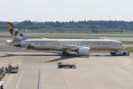 みるぽんたさんが、成田国際空港で撮影したエティハド航空 787-9の航空フォト(写真)