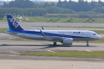 みるぽんたさんが、成田国際空港で撮影した全日空 A320-271Nの航空フォト(写真)