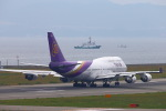 khideさんが、関西国際空港で撮影したタイ国際航空 747-4D7の航空フォト(写真)