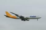 しかばねさんが、成田国際空港で撮影したポーラーエアカーゴ 747-87UF/SCDの航空フォト(写真)