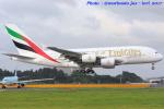 いおりさんが、成田国際空港で撮影したエミレーツ航空 A380-861の航空フォト(写真)
