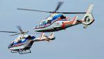 航空見聞録さんが、舞洲ヘリポートで撮影した朝日新聞社 AS365N2 Dauphin 2の航空フォト(写真)