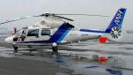 航空見聞録さんが、舞洲ヘリポートで撮影したオールニッポンヘリコプター AS365N2 Dauphin 2の航空フォト(写真)