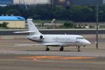 たまさんが、羽田空港で撮影した精功集团有限公司 Falcon 2000EXの航空フォト(写真)