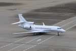 たまさんが、羽田空港で撮影したSKY RIVER CONSULTING LLC Falcon 7Xの航空フォト(写真)