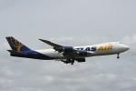 B747‐400さんが、成田国際空港で撮影したアトラス航空 747-87UF/SCDの航空フォト(写真)