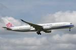 B747‐400さんが、成田国際空港で撮影したチャイナエアライン A350-941XWBの航空フォト(写真)