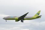 sg-driverさんが、福岡空港で撮影したジンエアー 777-2B5/ERの航空フォト(写真)
