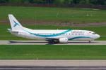PASSENGERさんが、チューリッヒ空港で撮影したテイルウィンド・エアラインズ 737-4Q8の航空フォト(写真)