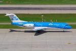 PASSENGERさんが、チューリッヒ空港で撮影したKLMシティホッパー 70の航空フォト(写真)