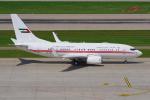 PASSENGERさんが、チューリッヒ空港で撮影したドバイ・ロイヤル・エア・ウィング 737-7E0 BBJの航空フォト(写真)