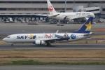CASH FLOWさんが、羽田空港で撮影したスカイマーク 737-86Nの航空フォト(写真)