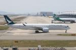 CASH FLOWさんが、関西国際空港で撮影したキャセイパシフィック航空 A350-941XWBの航空フォト(写真)