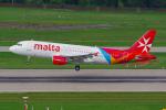 PASSENGERさんが、チューリッヒ空港で撮影したエア・マルタ A320-214の航空フォト(写真)