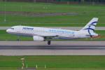 PASSENGERさんが、チューリッヒ空港で撮影したエーゲ航空 A320-232の航空フォト(写真)