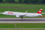 PASSENGERさんが、チューリッヒ空港で撮影したスイスインターナショナルエアラインズ A321-212の航空フォト(写真)