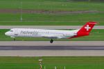 PASSENGERさんが、チューリッヒ空港で撮影したヘルベティック・エアウェイズ 100の航空フォト(写真)