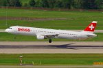 PASSENGERさんが、チューリッヒ空港で撮影したスイスインターナショナルエアラインズ A321-111の航空フォト(写真)