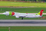 PASSENGERさんが、チューリッヒ空港で撮影したTAPエクスプレス ERJ-190-100 LR (ERJ-190LR)の航空フォト(写真)