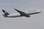 PASSENGERさんが、フランクフルト国際空港で撮影したルフトハンザ・カーゴ 777-FBTの航空フォト(写真)