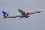 PASSENGERさんが、フランクフルト国際空港で撮影したスカンジナビア航空 A321-232の航空フォト(写真)