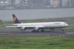turenoアカクロさんが、羽田空港で撮影したルフトハンザドイツ航空 A340-642Xの航空フォト(写真)