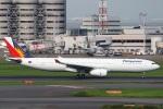 sky-spotterさんが、羽田空港で撮影したフィリピン航空 A330-343Eの航空フォト(写真)