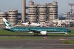 sky-spotterさんが、羽田空港で撮影したキャセイパシフィック航空 777-367/ERの航空フォト(写真)